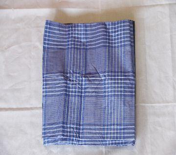 100% cotton check/Stripe lungi