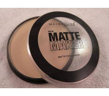 Maybelline Matte Maker Pressed Powder - 10 Classic Ivory (USA)