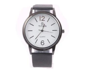 TITAN BLACK Wrist Watch for Men Copy