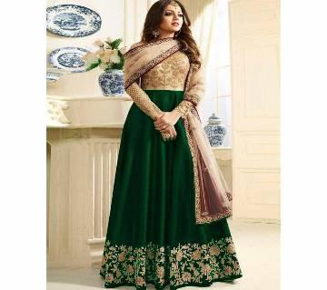 Georgette Unstitched Shalwar Kameez RF7679C-green