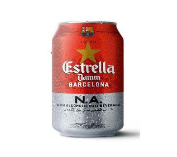 Estrella - Non Alcholic Malt Brvarage 330ml (6 Pcs Combo)