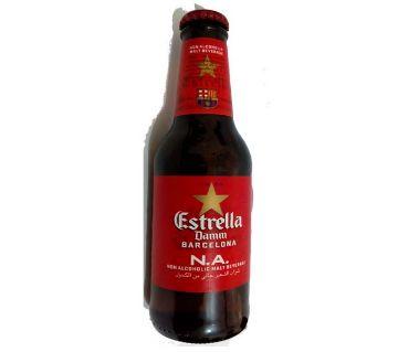 Estrella Damm Beer Barcelona Energy Drinks 250ml (6 Pcs)