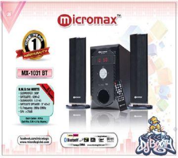 2.1 MX- 1031 BT SPEAKER MICRO-MAX
