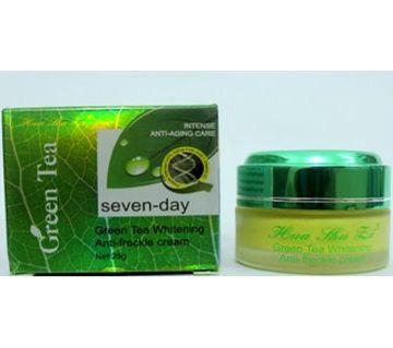 GREEN TEA WHITENING Anti -Freckle CREAM -25g-Taiwan