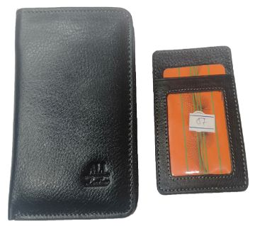 Genuine Leather Wallet man
