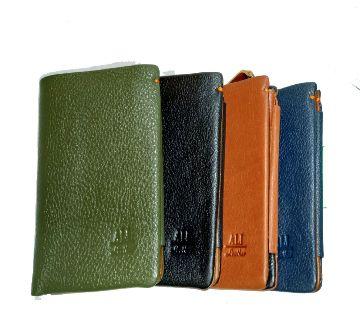 ALI Fashion Custom ALI Leather Men Card Wallet