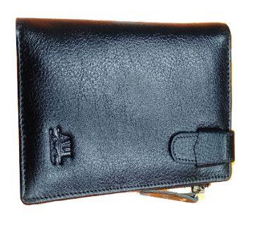 Mens Leather Wallet -black