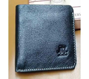 balck leather wallet