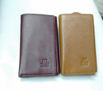 Leather Wallet For Men-1 Piece-Random Color