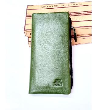 leather long wallet fro men