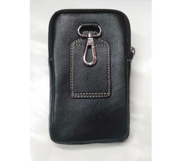 leather mobile bag