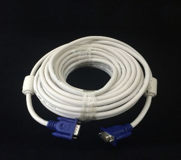 Monitor VGA Cable 10Meter - White