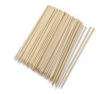 100 Pcs 10 Long Bamboo Cocktail Party Sticks! Kebab Skewers, Long Toothpicks