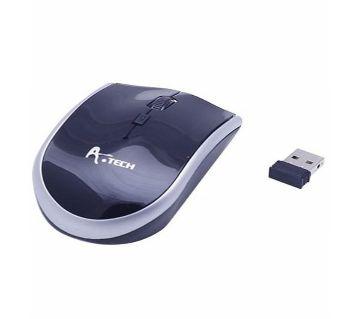 A4tech Wireless Mouse - 2.4G - Black