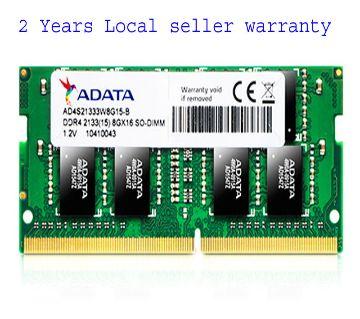 Adata 8GB 1Rx8 PC4-2400T AO1P24HC8T1-BQXS DDR4 Laptop RAM SO-DIMM