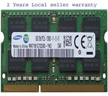 Samsung 8GB (1 x 8GB) 204-pin SODIMM, DDR3 PC3L-12800, 1600MHz ram memory module for laptops