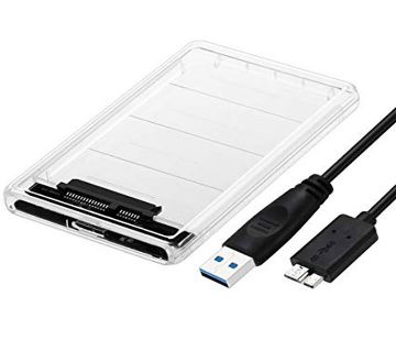 ORICO 2.5 USB 3 External Hard Drive Enclosure Casing for 2.5 inch 7mm/9.5mm SATA HDD SSD Support UASP SATA