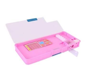 Animated Pencil Box - Pink