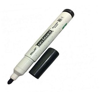 On-Board Dry Erase Marker - Black(4pcs)