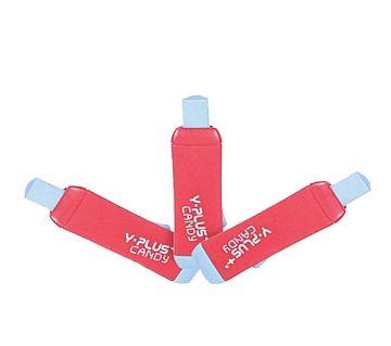 Y-Plus Candy Eraser - Red - 3pcs
