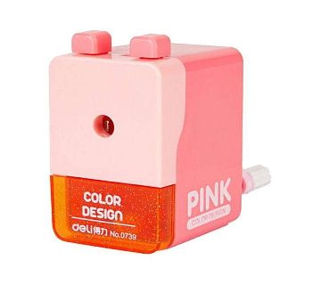No.0739 Creative Pencil Sharpener - Pink