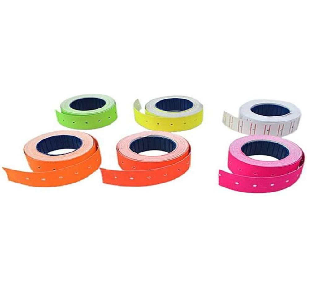 MX-5500 প্রাইস লেভেল স্টিকার - Multicolor (12pcs) বাংলাদেশ - 1084705