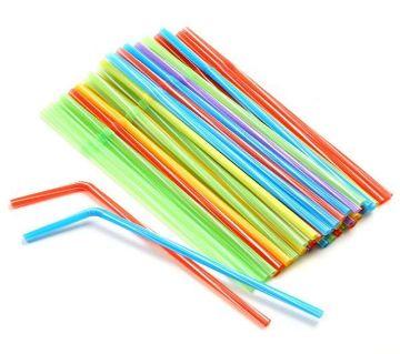 Farberware Flexible Straws, 100 Pcs
