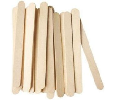 50 Pcs Wooden Ice Cream Sticks