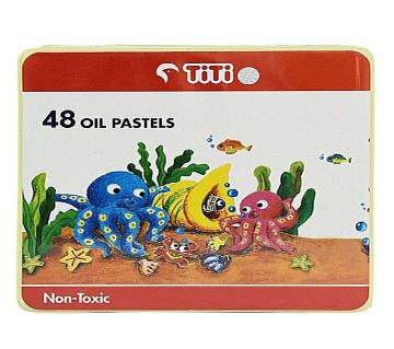 48 Non-Toxic Oil Pastels