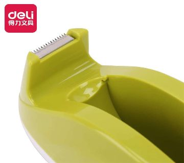 Deli 808 Tape Dispenser - Green color