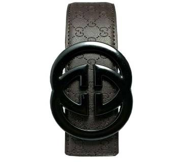 Gucci Chocolate Leather Belt for Men (Copy)