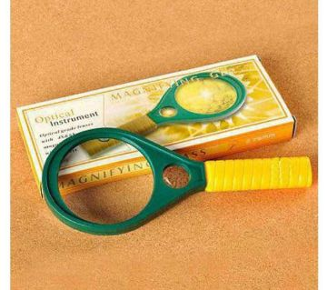 Magnifying Glass 50mm - Yellow and Green