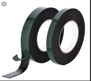 Waterproof Both Sided Foam Tape 0.4mm - Black