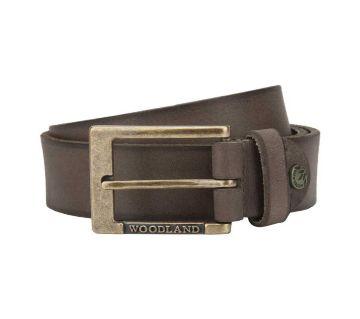 Woodland Genuine Leather Belt - 1050008 (Brown)