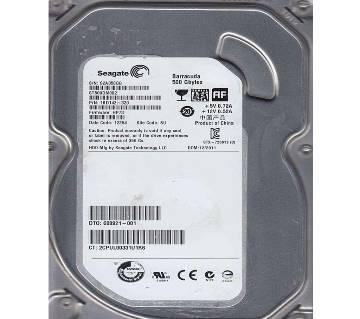Seagate Barracuda ST500DM002, 500 GB 3.5 Internal Hard Drive - SATA - 7200 rpm - 16 MB Buffer