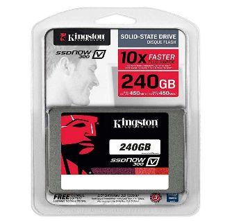 Kingston SSDNow V300 Series 2.5 240GB SATA III Internal Solid State Drive (SSD) SV300S37A/240G,( 3 Year Warranty )