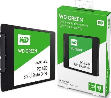 Western Digital Green 2.5 SSD 120GB-1TB, SSD, 545MB/S Best Performing Solid State Drive For Laptop, PC