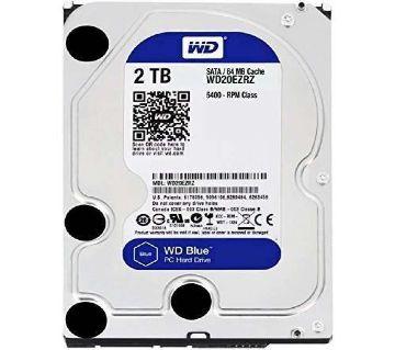 Western Digital Blue 2TB 3.5 Inch SATA 5400RPM Desktop
