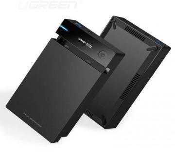 Ugreen 2.5 inch SATA Hard Drive Enclosure Black (50208)