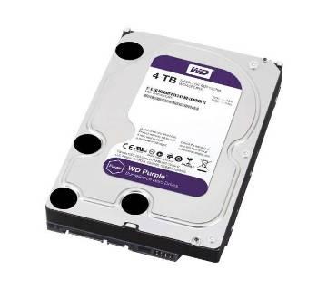 Western Digital Purple 4TB 3.5 Inch SATA 5400RPM Surveillance HDD