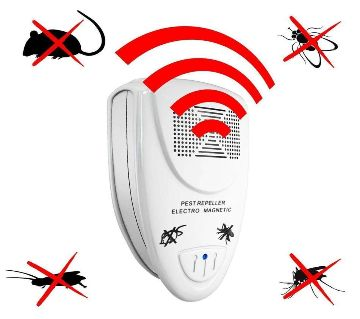 Loskii LP-04 Ultrasonic Pest Repellent Electronic Pest Control Repel Mouse Bugs Mosquitoes Roaches Killer