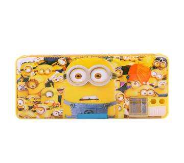 Minions Pencil Box - Yellow