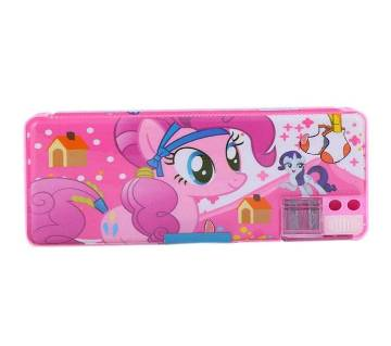 Animated Pencil Box - Pink