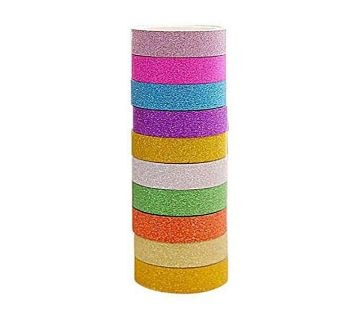 Colorful Washi Tape - 10pcs