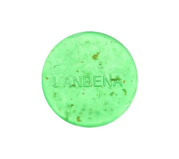 LANBENA 24K Gold Handmade Soap Tea Tree Essential Oil Facial Cleansing Acne Treatment Moisturizing Blackhead Remover Anti-Aging-40g-Bangladesh