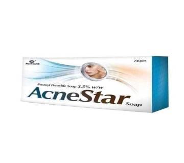 Mankind Acne Star Soap - 75g-Bangladesh