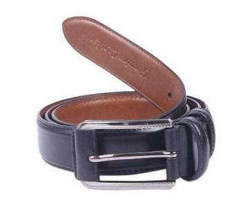 Black PU Leather Belt For Men-CSB-32