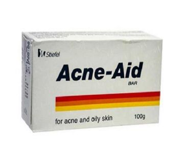 Acne Aid Soap Bar for Acne and Oily Skin - 100gm BD