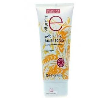 Beauty Formulas Vitamin E Exfoliating Facial Scrub 150 ml BD