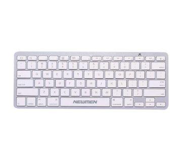 Newmen E807BT Slim Bluetooth Wireless Mini Keyboard